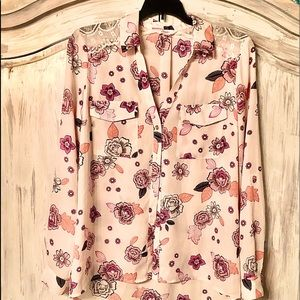 Candies Long Sleeve Blouse